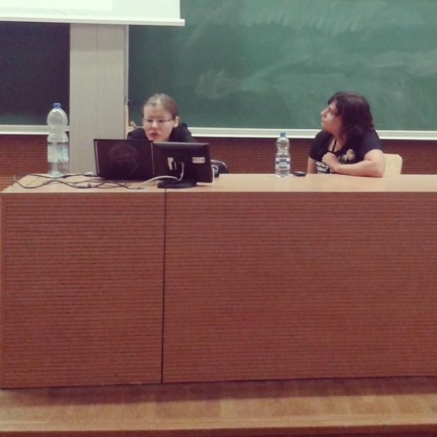 Agnieszka Hałas i Anna Kańtoch. Zdjęcie Kodamy