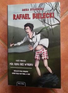 Okładka pierwszej części Rafaela Bieleckiego, książki autorstwa Aniki Stasińskiej. Kotori (2013)