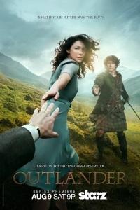 Plakat promujący serial Outlander.