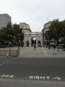 Marble Arch niedaleko Hyde Parku