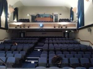 Tuke Hall, w której odbywał się mój panel