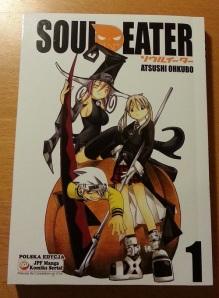 Polska okładka Soul Eater