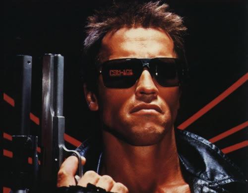 Arnold Schwarzenegger jako kultowy Terminator