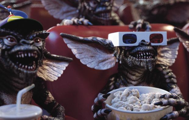 Gremliny też lubią filmy!