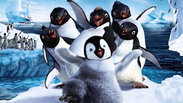 Zatańczmy na lodzie z pingwinkami!