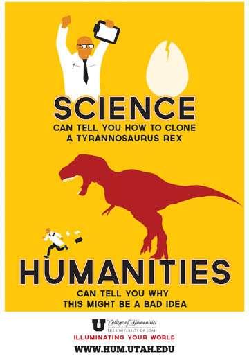 Jeden z moich ulubionych memów pokazujących związek nauki z literaturą: