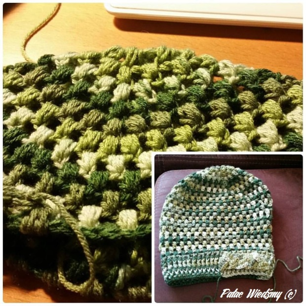 zielony czapek 1
