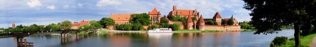 zamek krzyżacki malbork panorama